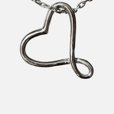 Be Still My Twisted Heart Necklace