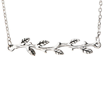 Friends Are Like Branches Necklace