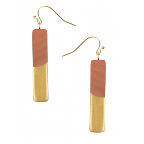 Oro Bar Earrings