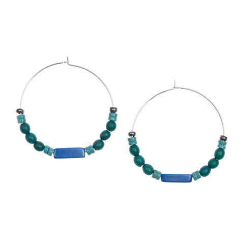 Rebeca Hoop Earrings