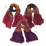 Traditional Textile Woven Scarf