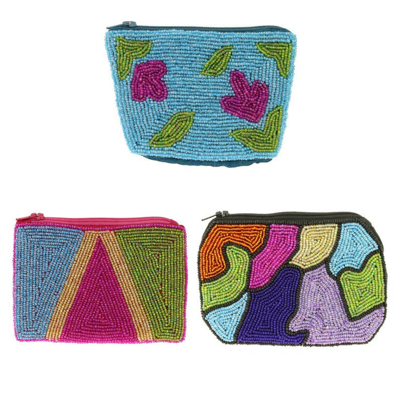 Art Smart Beaded Pouch