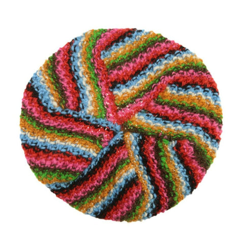 Color Burst Knit Hat