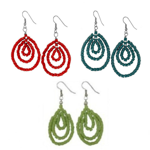 Ghana Sankofa Earrings