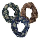 Whimsy Print Scarves