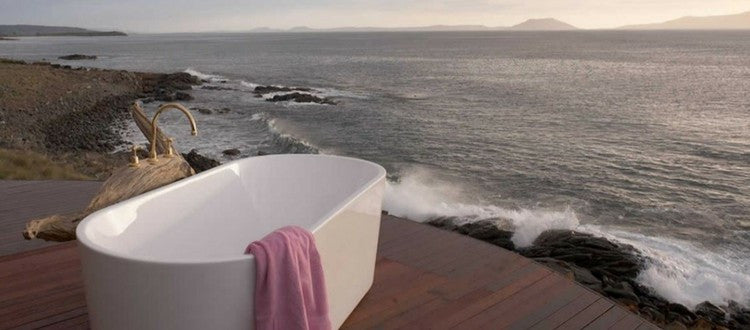 bathtubs with a view - spots to sip and savour - cup above tea
