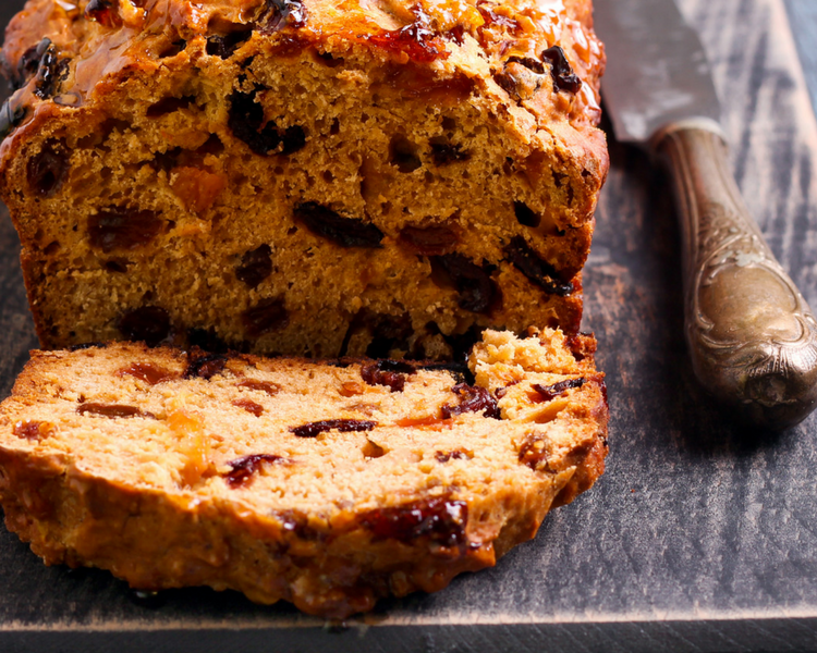 Cooking with tea - tea loaf recipe