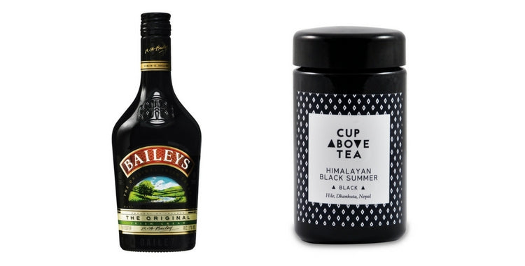 Cup Above Tea Baileys and Himalayan Black Summer Black Tea