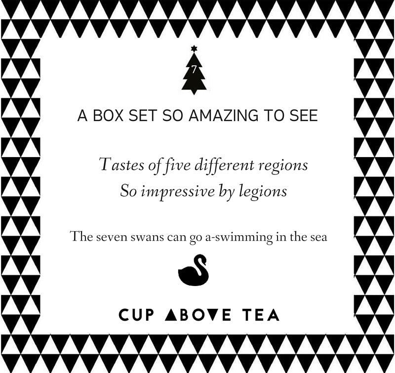 On the seventh day of ChristmasCup Above Tea sent to me