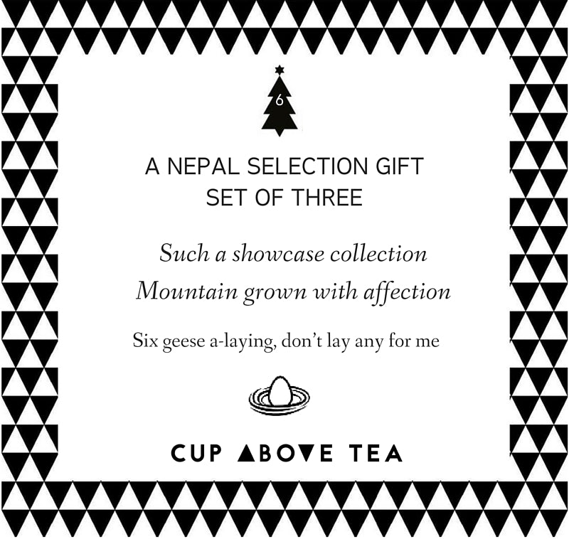 On the sixth day of ChristmasCup Above Tea sent to me