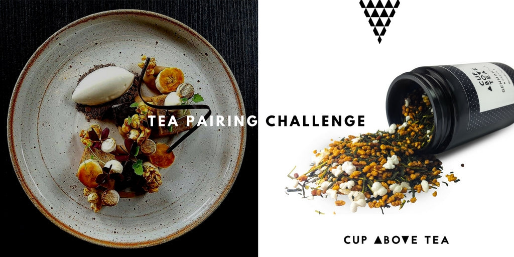 Tea Pairing Challenge - Cup Above Tea David Vidal