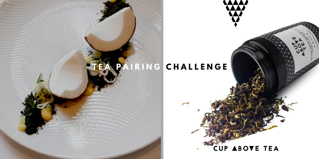 Tea Pairing Challenge Cup Above Tea and Est
