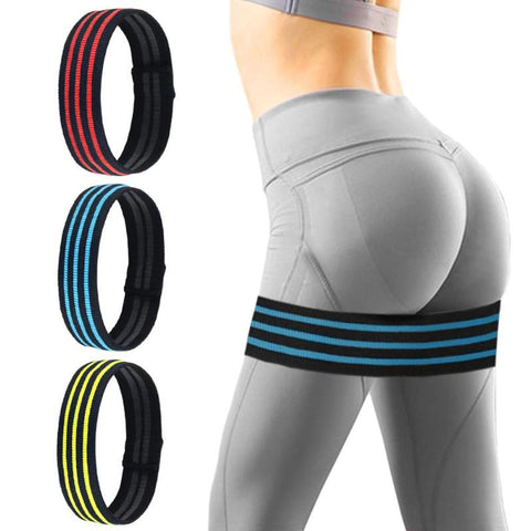 Hip Circle Deep Squat Hip Ring Elastic Band Fitness Rubber Band Female Resistance Circle Men's Yoga Sports Tension Belt - RXD PRO Functional Fitness