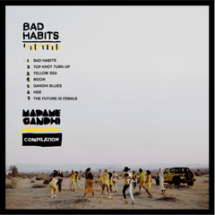 Bad Habits Compilation CD - Madame Gandhi Merch Shop