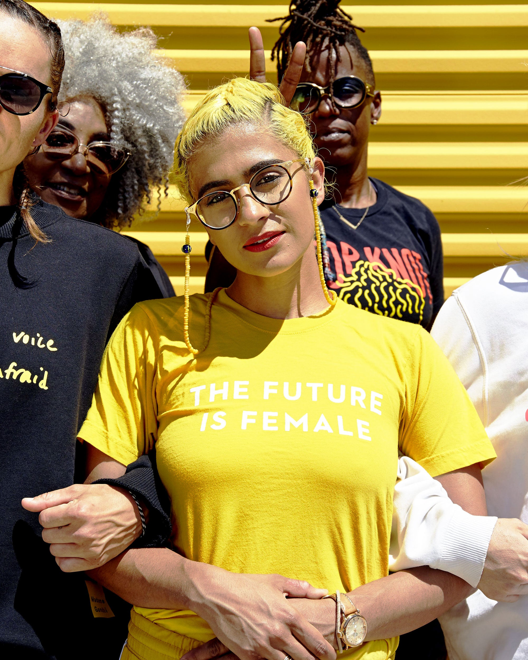 The Future is Female Shirt - Madame Gandhi Merch Shop