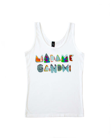 Limited Edition Digital Collage Tank Top