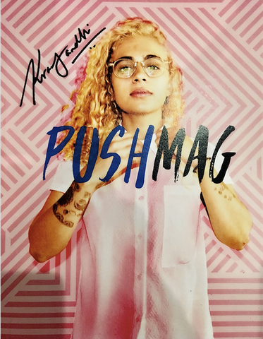 Signed Copy of Push Mag