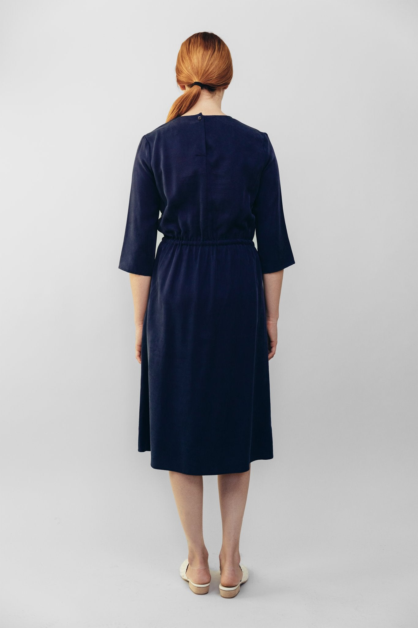 Dev Dress Navy