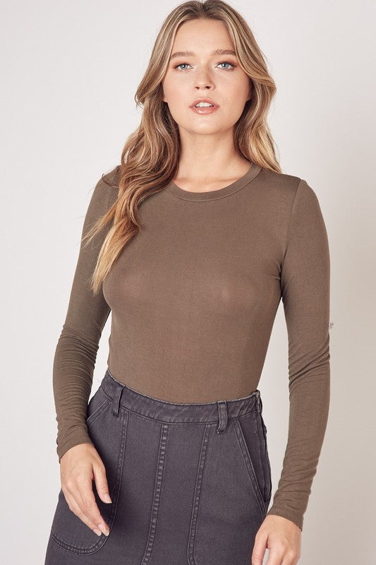 Molly Top Olive