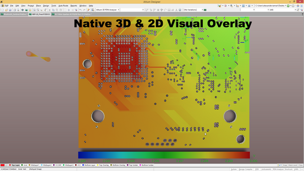 NATIVE 3D & 2D VISUAL OVERLAY