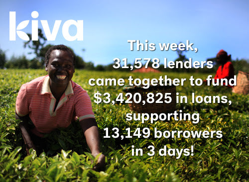 Kiva's Organization Making a Difference For Others!