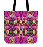 Variety of 4 Totes with Art