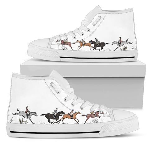 Galloping Horses Women High Tops