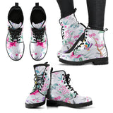FLORAL COLLECTION - Ladies White Boots