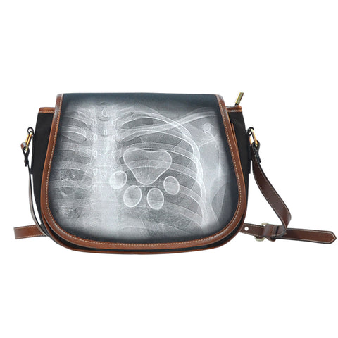 Saddle Bag PU Leather - Xray