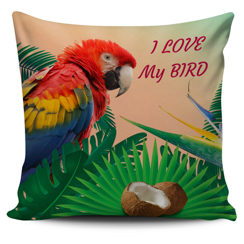 Pillow Cover Parrot