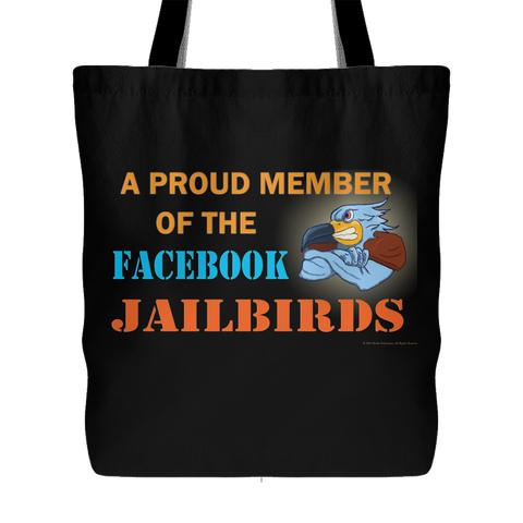 Bag - Member of Facebook Jailbirds Blk