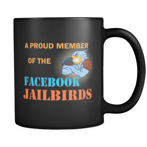 Mug - Proud Member  black 11oz