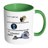 Mug Color Assortment 11oz - Exhausted Pigeon