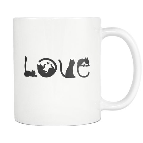 Mug 11oz - LOVE CATS