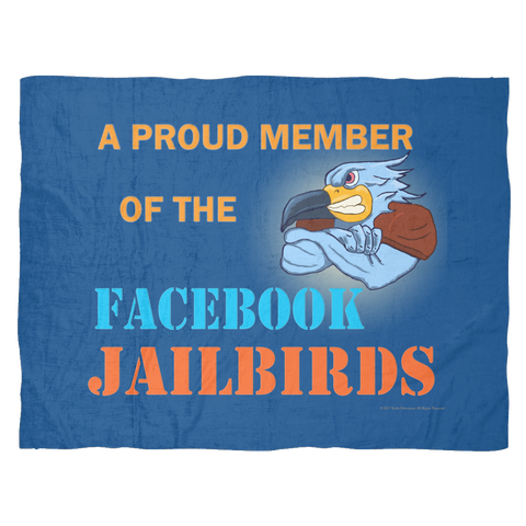 Blanket Small - Facebook Jailbirds
