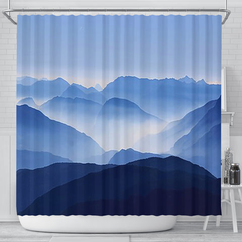 Shower Curtain ~ Mountains