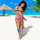 Retro Colours Scarf Sarong