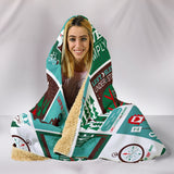 Camping Lover Hooded Blanket