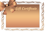 GIFT CARD - THE PERFECT GIFT $10, $25, $50, $100