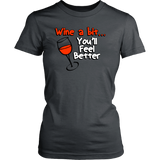 Women's District Tee - Wine A Bit