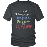 Unisex Tee - SPEAK LANGUAGES