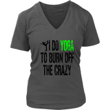 Ladies V-Neck- YOGA