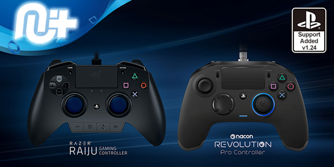 CronusMax Nacon Revolution Pro and Razer Raiju Controller support