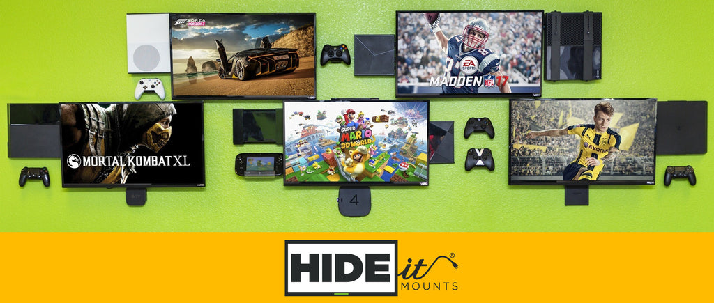 HIDEit Gaming Mounts Banner