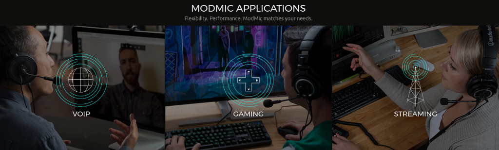 Antlion Audio ModMic Applications