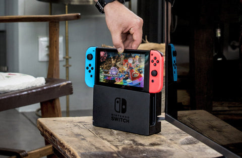 Nintendo Switch Home console gaming on the go