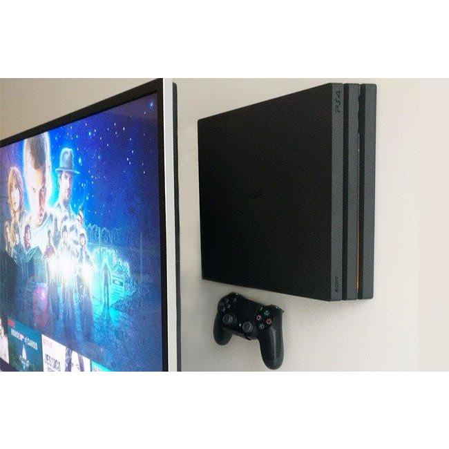HIDEit 4P PlayStation 4 Pro (PS4 Pro) Vertical Wall Mount