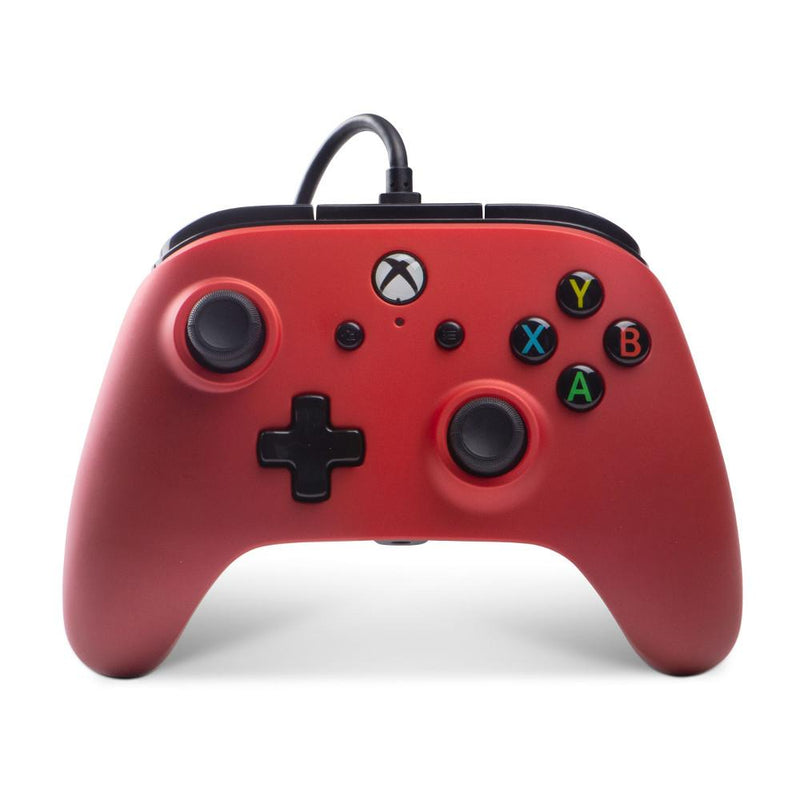 Xbox One Enhanced Wired Controller (Crimson Fade) Controllers PowerA