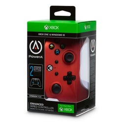 Xbox One Enhanced Wired Controller (Crimson Fade)