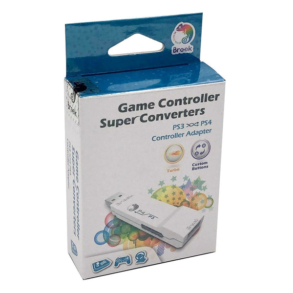 Brook Super Converter PS3 to PS4 Gaming Controller Adapter (White)